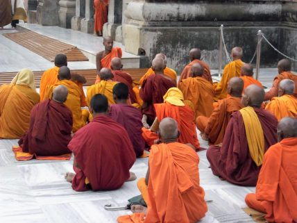 Discourse at Mahabodhi Temple, Bodh Gaya