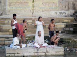 Hindu family, Varanasi